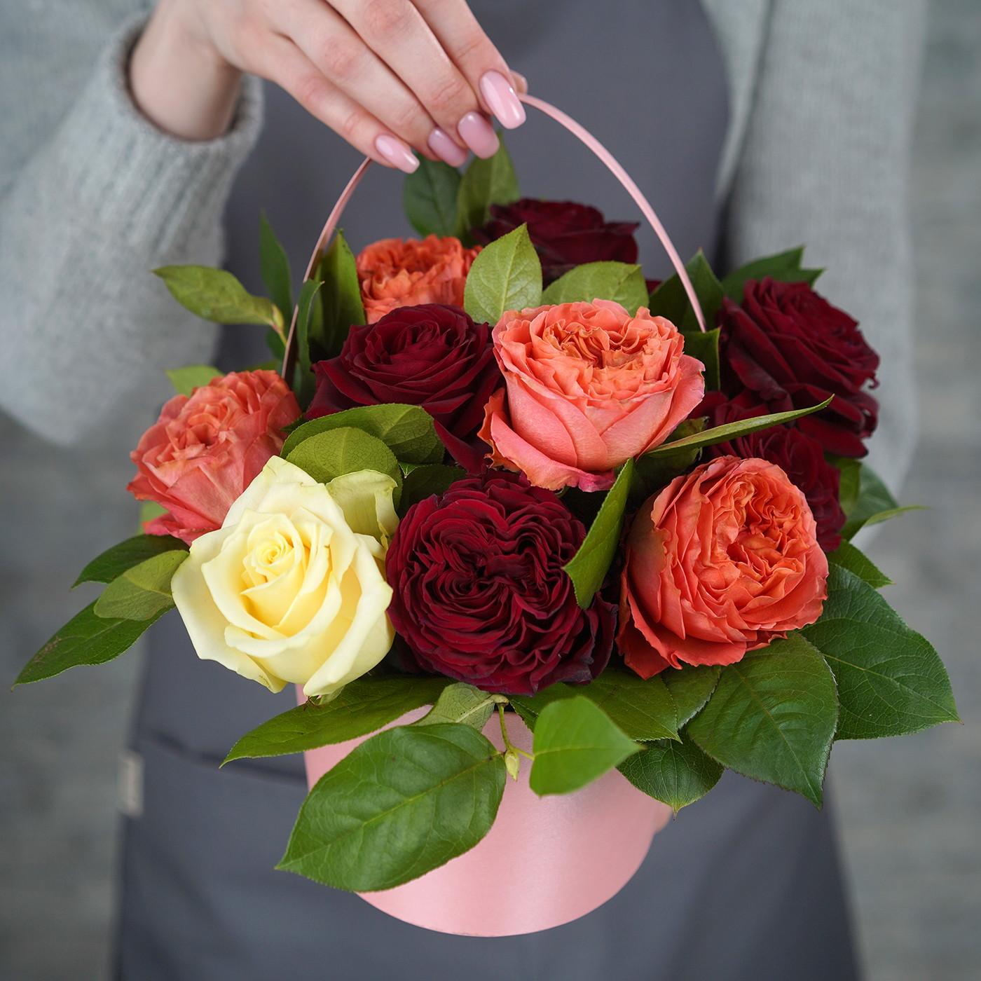 Композиция с розой «Флора»