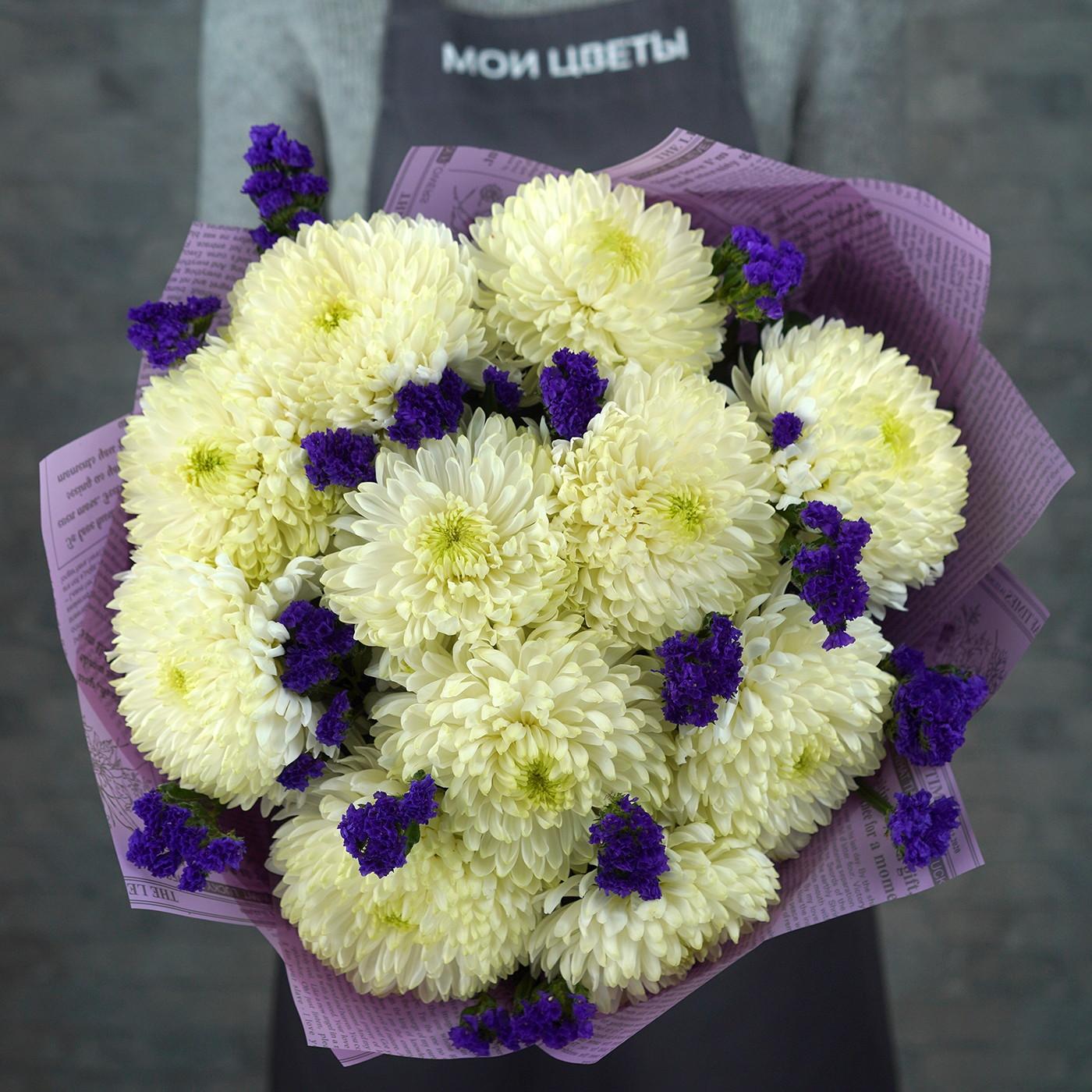 Букет с хризантемой «Восточная красавица»
